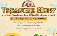 Belanja Treasure Hunt Nutrimart Dapat Voucher
