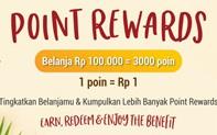 Point Reward di Nutrimart