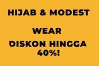 Diskon Hijab dan Busana Muslim di Zilingo
