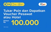 Tukar Point Telkomsel Dapa Voucher Tiketcom