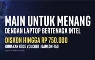 Laptop Gaming Tenaga Intel