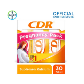 Pregnancy Pack (CDR Rasa Jeruk 10 Tablet x 3 Unit)