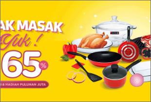 Masak-Masak Yuk Disc. Up to 65%