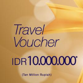 Travel Voucher 10 Jt