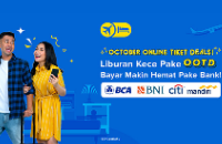 Promo Beli Tiket Pesawat di Tiket.com Pakai Bank