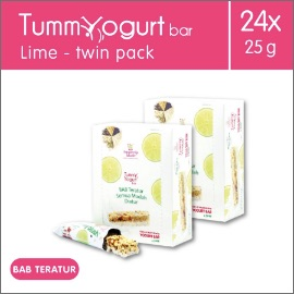 Heavenly Blush Tummy Yogurt Bar Lime