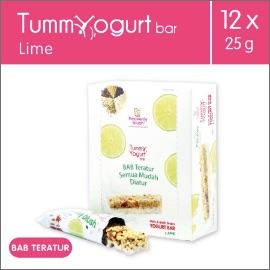 Heavenly Blush Tummy Yogurt Bar Lime [12 Pcs x 25Gr]
