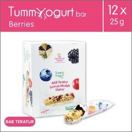 Heavenly Blush Tummy Yogurt Bar Berries [12 Pcs x 25Gr]