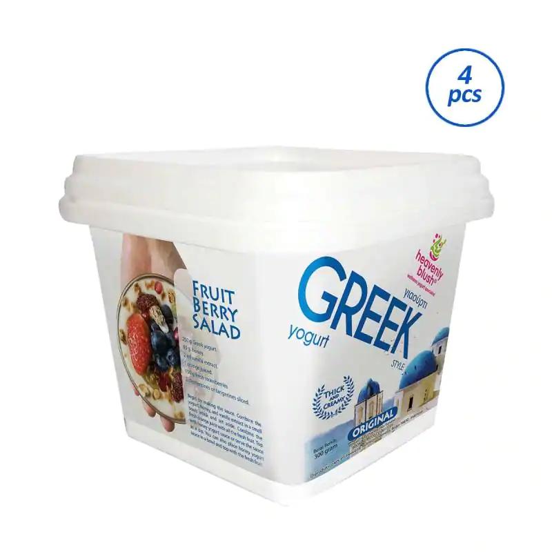 HEAVENLY BLUSH Greek 300 Yogurt [4 x 300 g]