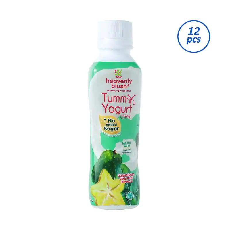 HEAVENLY BLUSH Tummy Drink Sirsak Yogurt [12 x 180 mL]