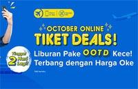 Tiket.com - October Online Tiket Deals