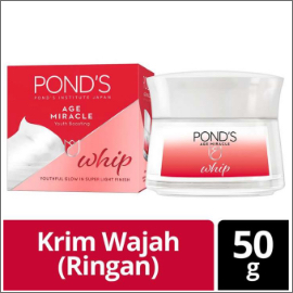 Ponds Age Miracle Whip Cream 50G