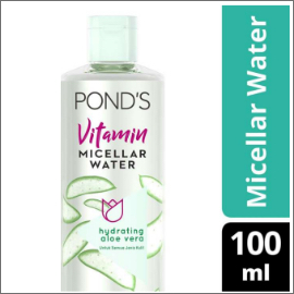 PONDS VITAMIN MICELLAR WATER (MAKEUP REMOVER) HYDRATING ALOE 100ML