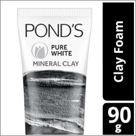 POND'S PURE WHITE MINERAL CLAY FOAM 90G