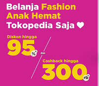 Tokopedia - Diskon Fashion Anak