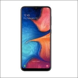Samsung Galaxy A20 Smartphone [3GB/32GB]