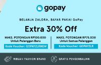 Zalora - Promo Belanja dengan Gopay