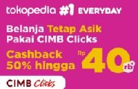 Tokopedia - Promo CIMB Clicks