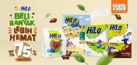 Lazada - Promo Susu Hilo
