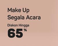 Bukalapak - Promo Make Up Segala Acara
