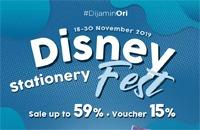 Disney Stationery Fest di JD.ID