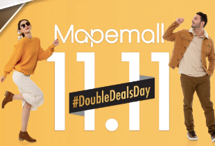 MAPEmall Double Deals Day U to 70% + Vocuher 11%