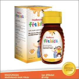 Madurasa Multivitamin Anak Fitkidz Botol 140 gr Pet