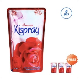 Kispray Refill Pouch Amoris Pengharum Pakaian [Buy 6 Free 3]