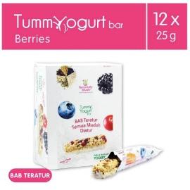 Heavenly Blush Tummy Berries Yogurt Bar [12 x 25 g]