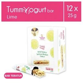 Heavenly Blush Lime Tummy Yogurt Bar [12 x 25 g]