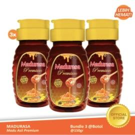Beli 3 Madurasa Premium Madu Royal Jelly Bee Polen 150gr