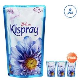 Kispray Refill Pouch Bluis Pengharum Pakaian [Buy 6 Free 3]