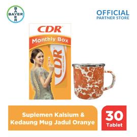 CDR X Kedaung Raisa Monthly Box (CDR 30 Tablet) & Mug Jadul Oranye