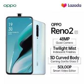 OPPO Reno2 F 8/128 GB 48MP Quad Camera (COD, Garansi Resmi, Cicilan 0%, Gratis Ongkir)