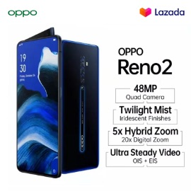 OPPO RENO 2 [8GB/256GB], QUAD CAMERA, ZOOM INTO IMAGINATION, GRATIS ONGKIR, COD, CICILAN 0%