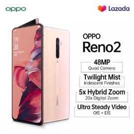 OPPO RENO 2 [8GB/256GB], QUAD CAMERA, ZOOM INTO IMAGINATION, GRATIS ONGKIR, COD, CICILAN 0%