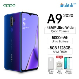 Oppo A9 (2020) (Space Purple, 128 GB)