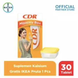 CDR Raisa Hamish Monthly Box (CDR Rasa Jeruk 15 Tablet x 2 Unit) Gratis IKEA Pruta 1pc