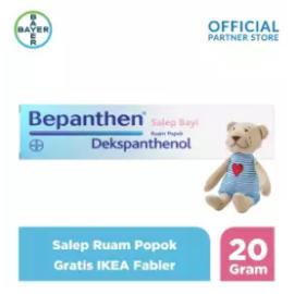 Bepanthen Salep Bayi Ruam Popok 20gram Gratis IKEA Fabler
