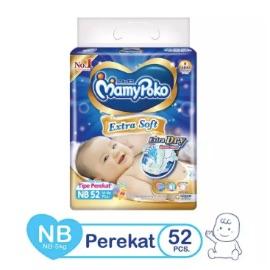 MamyPoko Popok Perekat Extra Soft NB52