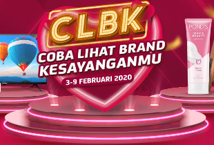 CLBK Coba Lihat Brand Kesayanganmu | Diskon s/d 50%