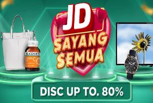 JD Sayang Semua Diskon s/d 80%