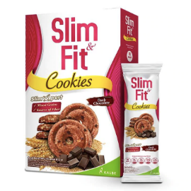 Slim&Fit Dark Chocolate Cookies [22 g/ 10 pcs]