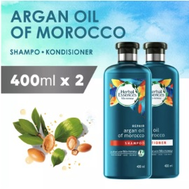 Herbal Essences Bio:Renew Repair Argan Oil Of Morocco Shampo 400 ml + Kondisioner