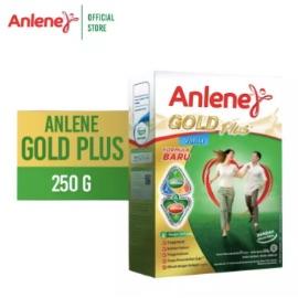 Anlene Gold Plus Vanila 250gr - Susu Bubuk - Nutrisi Jantung, Tulang, Sendi & Otot