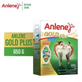 Anlene Gold Plus Vanila 650gr - Susu Bubuk - Nutrisi Jantung, Tulang, Sendi & Otot