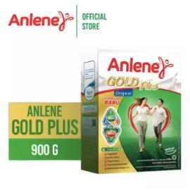 Anlene Gold Plus Original/Plain 900gr - Susu Bubuk - Nutrisi Jantung, Tulang, Sendi & Otot