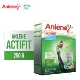 Anlene Actifit Vanila 250gr - Susu Bubuk - Nutrisi Tulang, Sendi, dan Otot