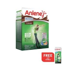 Buy Anlene Actifit Chocolate 600gr Free UHT Vanilla