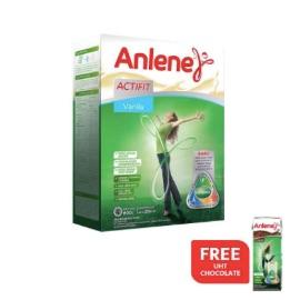 Buy Anlene Actifit Vanilla 600gr Free UHT Chocolate